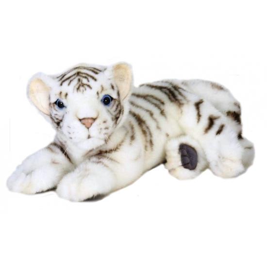 9aa484919f6f01 Hansa pluche witte tijger pup knuffel liggend 26 cm bestellen ...