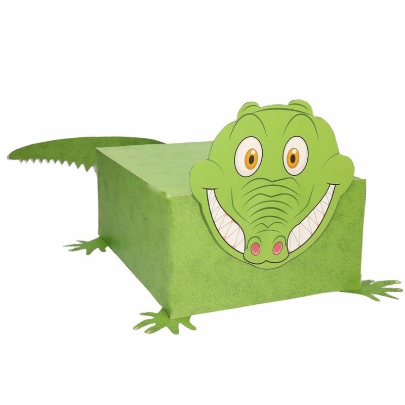 Krokodil Sinterklaas Surprise Zelf Maken Knutselpakket Bestellen