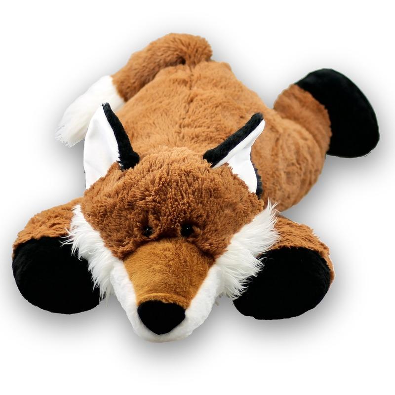 01accbe5a15de8 Pluche knuffel grote vos 80 cm bestellen - Shoppartners Homeshopping