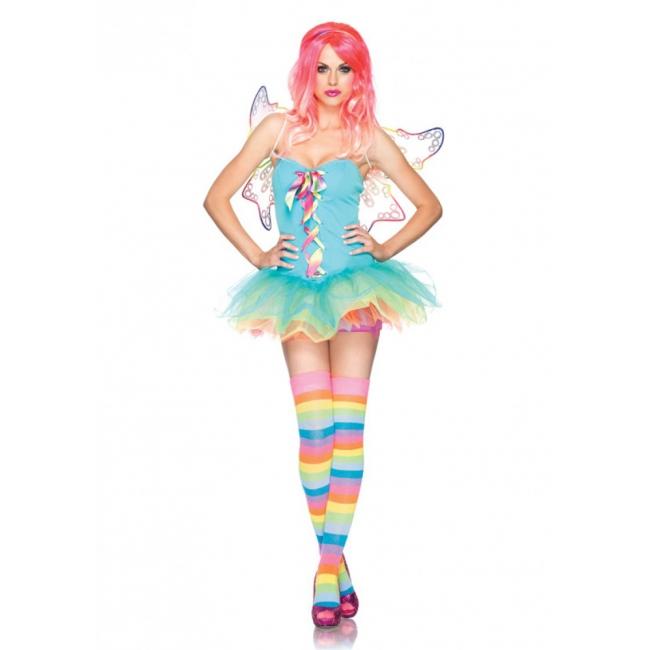 Fee Kostuum Dames.Regenboog Fee Kostuum Voor Dames Bestellen Shoppartners