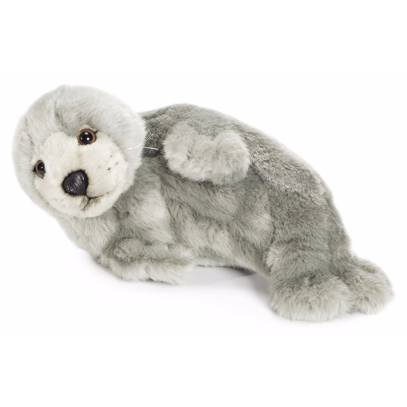 2be100535a3b9b WNF pluche grijze zeehonden knuffel 24 cm bestellen - Shoppartners ...