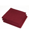 25 bordeaux rode servetten 33 x 33 cm