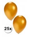 25 Gouden ballonnen
