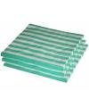 25 mint kleur servetten 33 x 33 cm