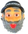 Abraham masker met hoedje