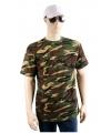 Army camouflage t-shirt korte mouw