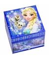 Blauw Frozen sieradendoosje voor meisjes