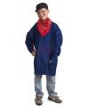 Blauwe boeren kiel voor kinderen