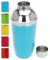 Blauwe cocktailshaker 500 ml