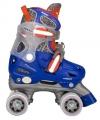 Blauwe rolschaatsen maat 30, 31, 32, 33