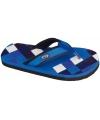 Blauwe slippers voor heren