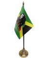 Bob Marley tafelvlaggetje inclusief standaard