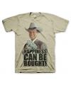 Dallas khaki T-shirt heren