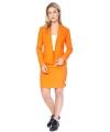 Koningsdag Dames mantelpakje oranje