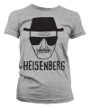 Dames T-shirt Breaking Bad Heisenberg grijs