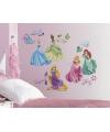 Disney prinsessen gekleurde muur stickers