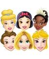 Disney Prinsessen maskers 6 stuks