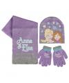 Frozen winter accessoires set lila voor kinderen
