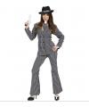Gangster kostuum voor dames