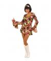 Gekleurd hippie jurkje voor dames