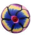 Gekleurde bloemen chunk 1,8 cm