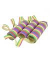 Gekleurde serpentine 3 rollen