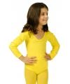 Gele kinder bodysuit