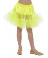 Gele petticoat voor kinderen