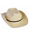 Gevlochten stro hoed Cuba
