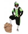 Groen zwarte pieten kostuum budget