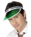 Groene poker zonneklep
