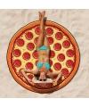 Grote pizza badlaken 150 cm