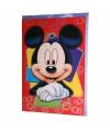 Grote verjaardagskaart Mickey Mouse 26 x 38 cm