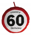 Happy Birthday kussen 60 jaar