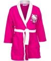 Hello Kitty badjas fuchsia voor meisjes