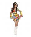 Hippie jurkje met bloemen