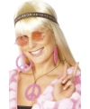 Hippie sieraden peace set