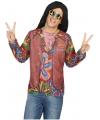 Hippie verkleed shirt voor heren