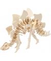 Houten 3D puzzel Stegosaurus met app