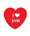 I Love you snoepjes blikje