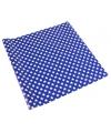 Inpakpapier blauw met sterren