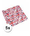 Inpakpapier Union Jack 5 stuks