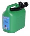 Jerrycan 5 liter groen