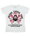 Jesus Loves You dames shirt