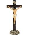 Jezus aan het kruis beeldje 32 cm