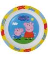Kinder ontbijtbord Peppa Big 22 cm