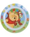Kinder ontbijtbord Winnie de Poeh 22 cm
