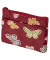 Kinder portemonnee vlinder