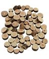 Kleine houten schijfjes 230 gram