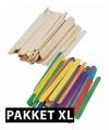 Knutselhoutjes pakket XL